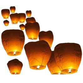 Lanterne cinesi volanti bianche for Lanterne bianche