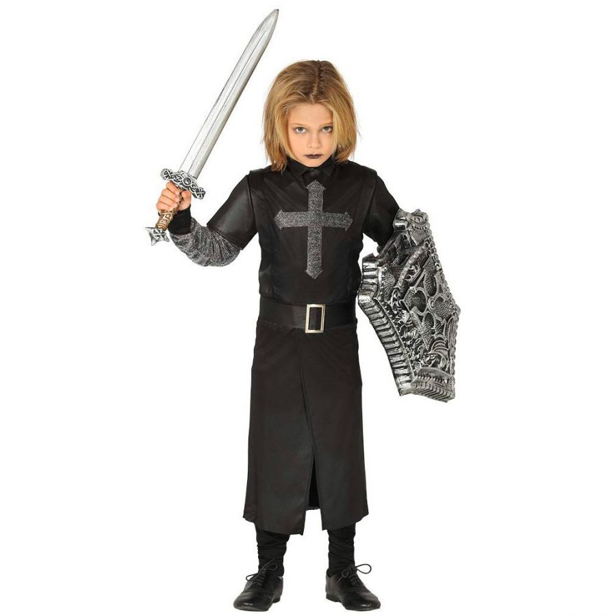 Vestito Cavaliere Bambino.Costume Cavaliere Fantasma Bambino