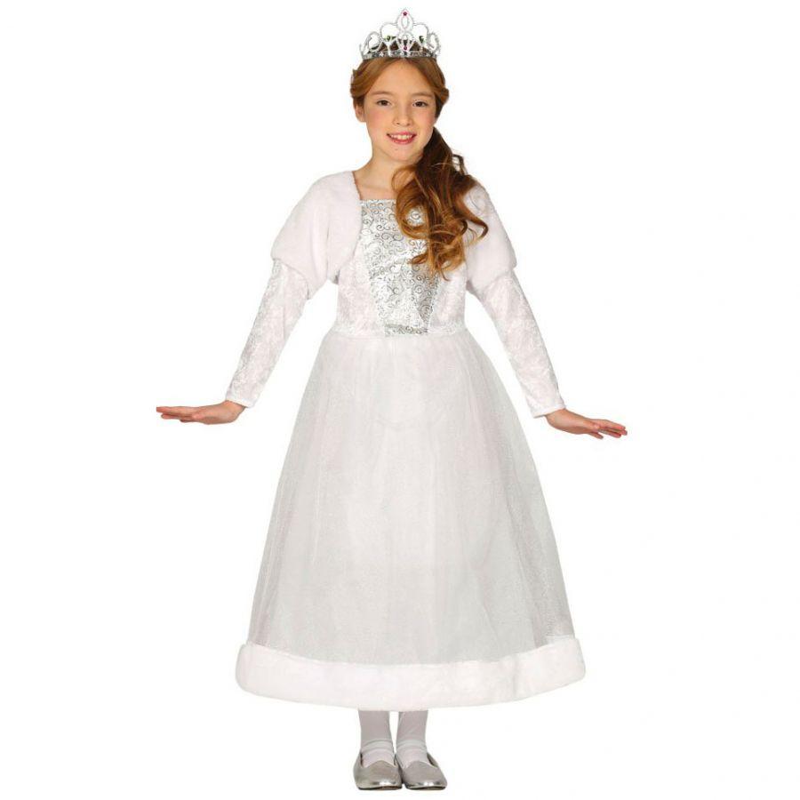 ultime tendenze check-out prestazione affidabile Costume Principessa Bianca Bambina