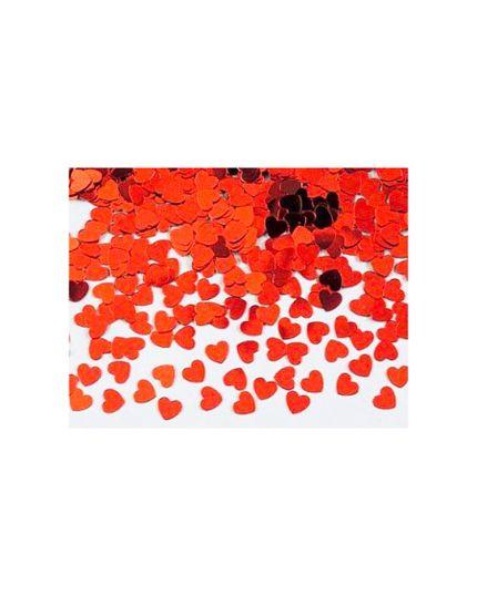 Coriandoli Confetti da Tavola Cuoricini Rossi