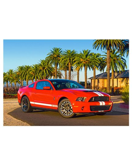 Puzzle Ford Mustang GT 500 260 Pezzi 32x23 Cm