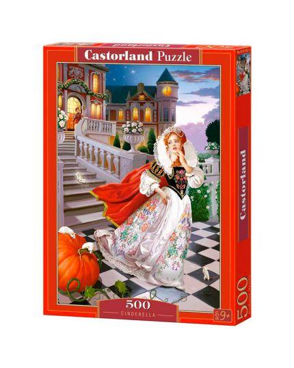 Puzzle Cinderella 500 Pezzi 47x33 Cm