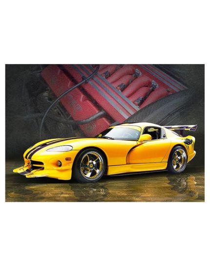 Puzzle Automobile Dodge Viper 500 Pezzi 47x33 Cm