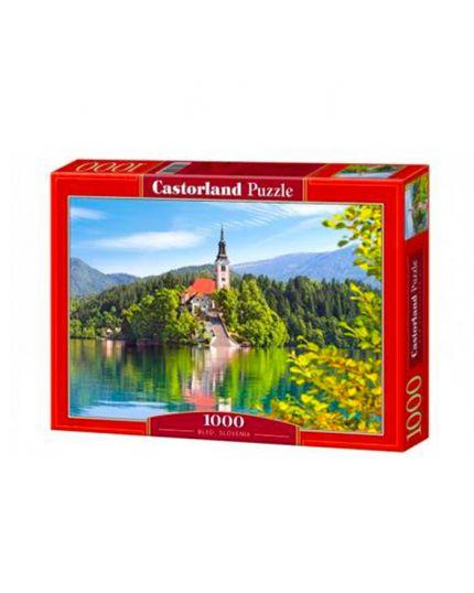 Puzzle Bled, Slovenia 100 Pezzi 68x47 Cm