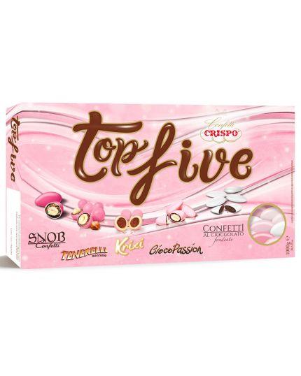 Confetti Crispo Snob TopFive Rosa 1000 gr