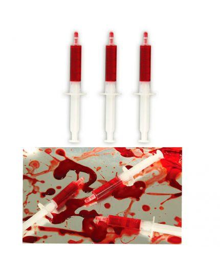 Siringhe con Sangue Finto