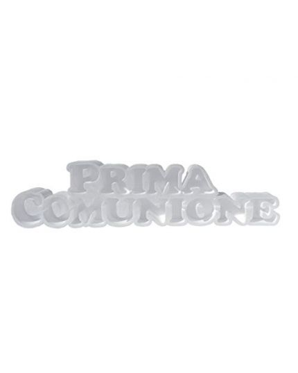 Struttura Porta Confetti in Polistirolo Scritta Prima Comunione