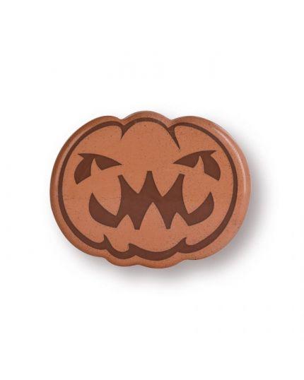 Set Decorazioni Torta Zucche Halloween di Cioccolato 6 Pz