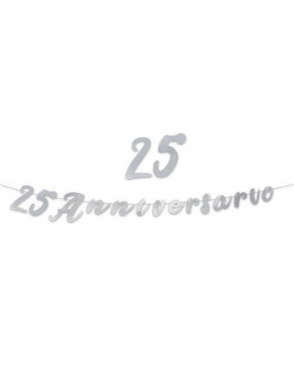 Festone Scritta 3Mt 25° Anniversario