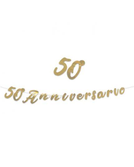 Festone Scritta 3Mt 50° Anniversario