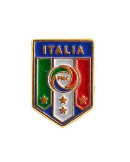 Distintivo in Metallo Tricolore Italia Azzurri