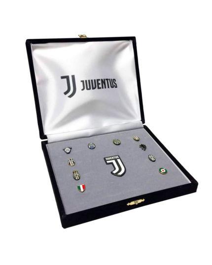 Cofanetto Distintivi Marchi Storici Juventus