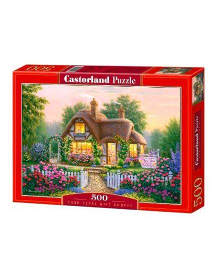 Puzzle Casetta Con Lago 500 Pezzi 47x33 Cm