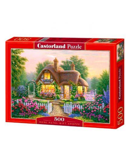 Puzzle Cottage Ponte 500 Pezzi Cm 47x33
