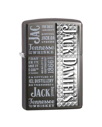 Accendino Zippo - Jack Daniel's Grigio