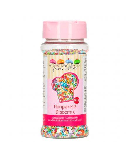 Decorazioni in Zucchero Mompariglia Multicolor 80gr