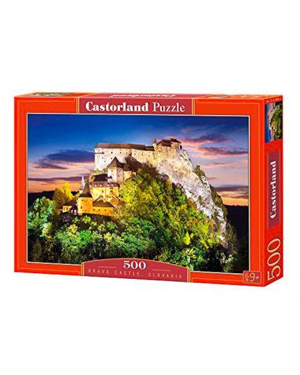 Puzzle Castello Di Orava Slovacchia 500 Pezzi 47x33 Cm
