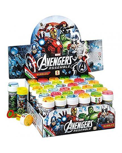 Kit Bolle di Sapone Avengers 5Pz