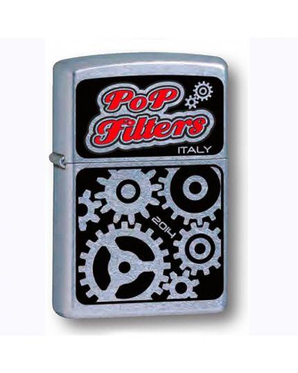 Accendino Zippo Pop Filter Logo