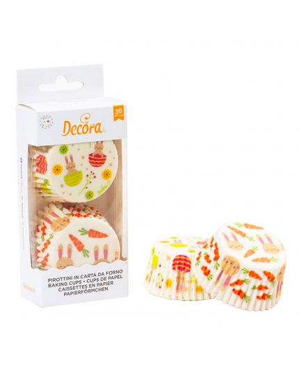 Pirottini Muffin Carta Pasqua 36pz