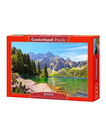 Puzzle Lago Di Oko Morskie, Tatras, Polonia 1000 Pezzi 68x47 Cm