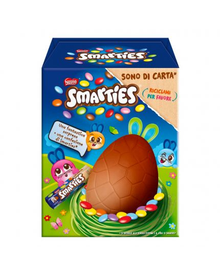 Uovo Pasqua Smarties Box 218Gr