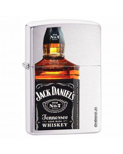 Accendino Zippo - Bottiglia Jack Daniel's a Colori Dritta