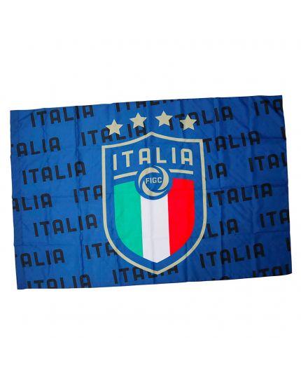 Bandiera Italia con Logo 100x140cm