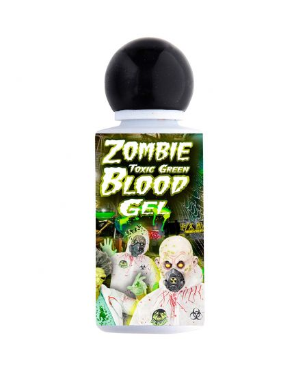 Sangue gel verde fluorescente