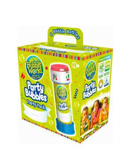 Kit Bolle di Sapone Party Bubbles 6Pz