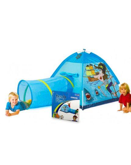 Tenda Pirati Con Tunnel 170x112x94 Cm