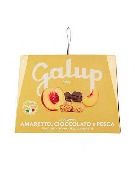 Colomba con Amaretti Pesca e Cioccolato Galup 750Gr