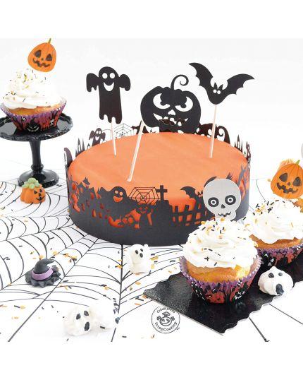 Decorazioni Torte Scrap Cooking Halloween Regolabile