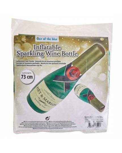 Bottiglia di Spumante Gonfiabile 73 Cm