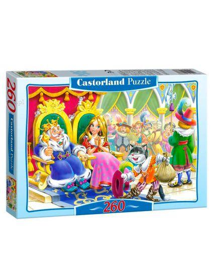 Puzzle Gatto Con Gli Stivali 260 Pezzi 32x23 Cm