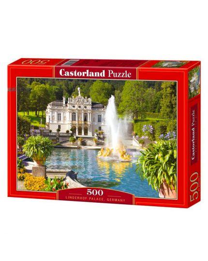 Puzzle Palazzo Di Linderhof Germania 500 Pezzi 47x33 Cm