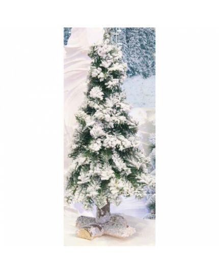 Albero di Natale Innevato con Tronco 60cm