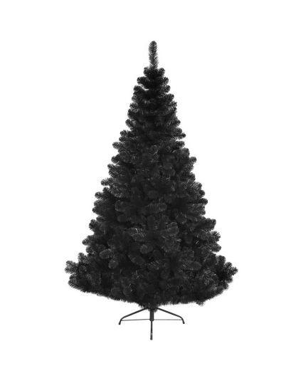Albero Natale Pino Imperiale Nero Varie Dimensioni