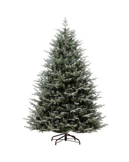 Albero Natale Pino Oxford Ghiacciato Verde Varie Dimensioni