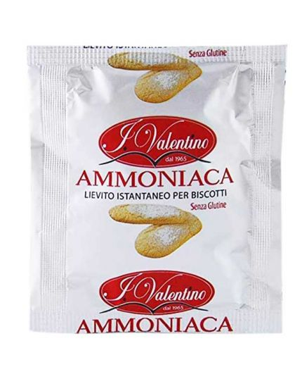 Lievito Istantaneo Ammoniaca per Biscotti Valentino 20gr