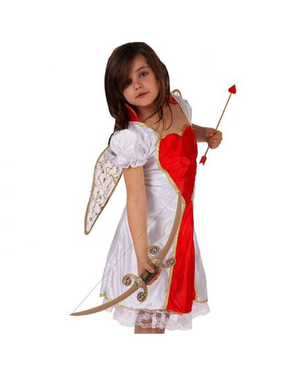 Costume Angelo dell'Amore Bambina