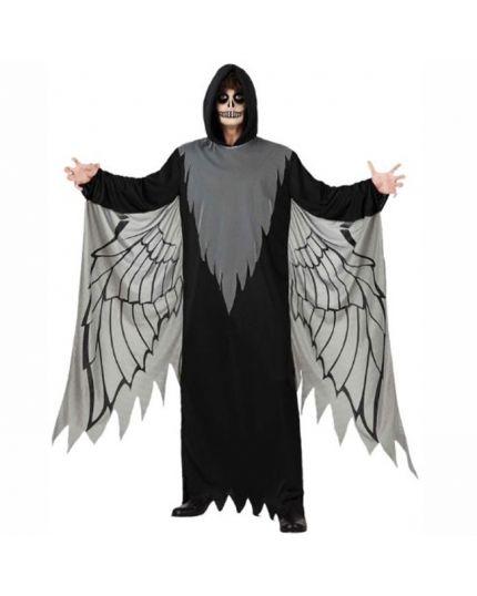 Costume Angelo Nero Uomo