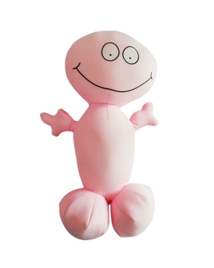 Scherzo Pene Antistress Willy Message Rosa - Registra e Ripete le Tue Frasi 30cm