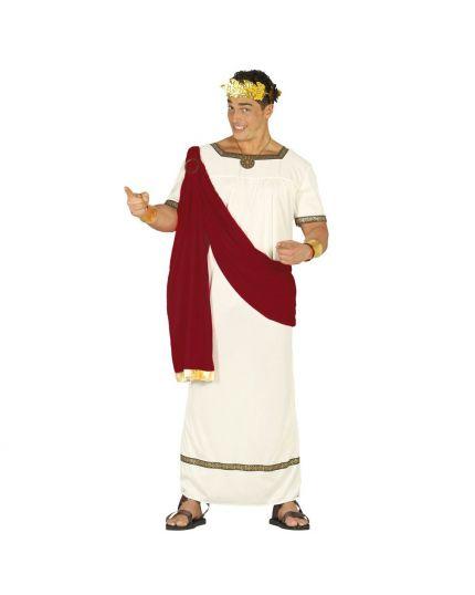 Costume Re Romano Ottaviano Augusto Uomo