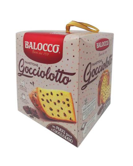 Panettone Gocciolotto con Maxi Gocce Cioccolato Balocco 800gr