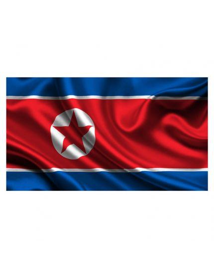 Bandiera Corea del Nord 100x140cm