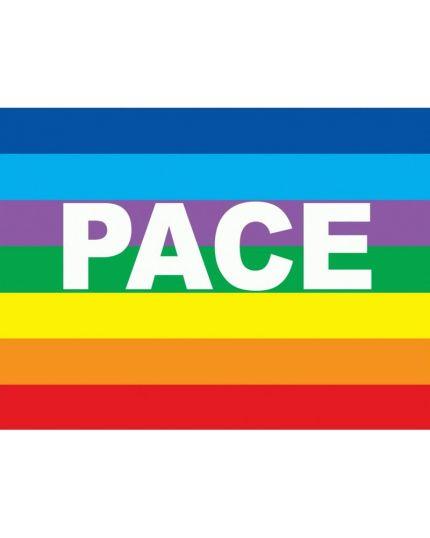Bandiera della Pace arcobaleno 100x140cm