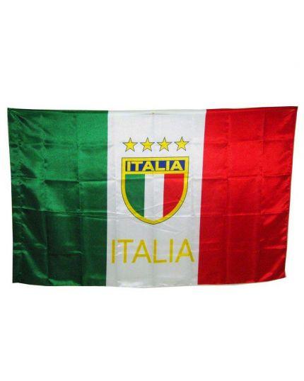 Bandiera Italia con Scudetto 90x150cm