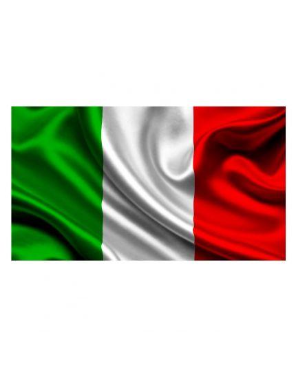 Bandiera Italia con Asta 50x70cm