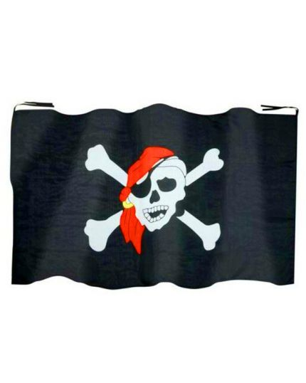 Bandiera Stemma Pirata 130x80cm
